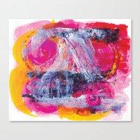 Urban Pink Canvas Print
