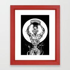 Nkulun Kulu the first man Framed Art Print