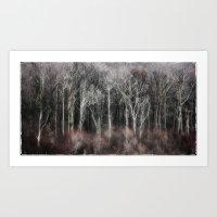 Ohio Trees Art Print