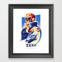 Formula Zero (Open Editi… Framed Art Print