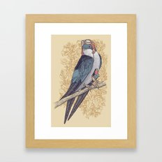 Frequent Passenger Framed Art Print