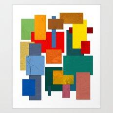 Abstract #338 Art Print