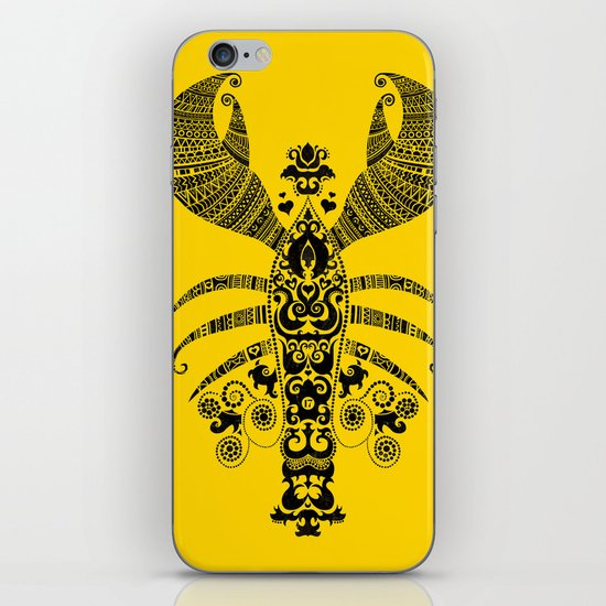17th Century Lobster iPhone & iPod Skin
