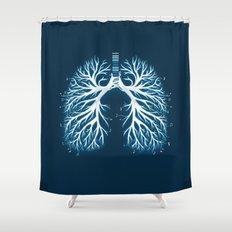 I Breathe Music Shower Curtain