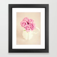 Dreamy Roses II Framed Art Print