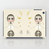 kara akciğer iPad Case
