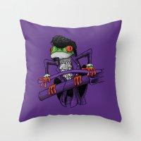 Frog Prince Throw Pillow