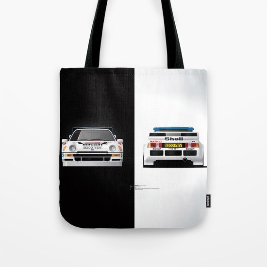 Group B Edition, N.º4, Ford RS200 Tote Bag