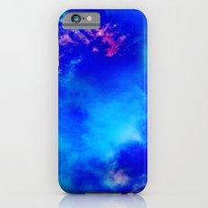 Cosmic Clouds In Dark Blue iPhone 6 Slim Case