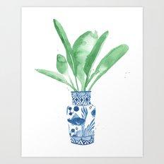 Ginger Jar + Bird Of Par… Art Print