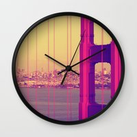 Golden Gate Into San Fra… Wall Clock
