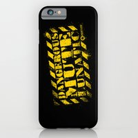 Dangerous Mute Lunatic iPhone 6 Slim Case