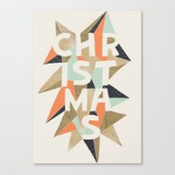 Christmas Sparkle Canvas Print