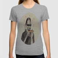 Snoop Dogg in love with a Hotdog Womens Fitted Tee Athletic Grey SMALL