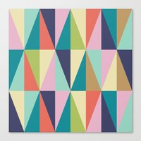 MCM Pointedly Peuce Canvas Print