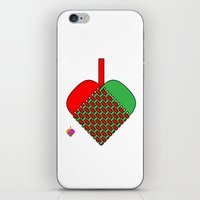 Julekurv iPhone & iPod Skin