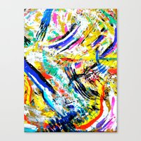 re: stacks // Bon Iver Canvas Print