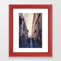 Rambla Framed Art Print