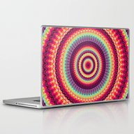 Laptop & iPad Skin featuring Mandala 140 by Patterns Of Life