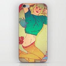 Blonde Girl iPhone & iPod Skin