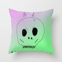 YOU SMELL BAD Throw Pillow