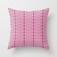 Purple for Marie  Throw Pillow
