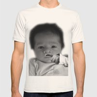 Baby Harper Mens Fitted Tee Natural SMALL