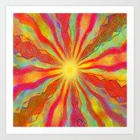 August Sun Art Print