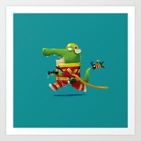 Buya the Firefighter Art Print
