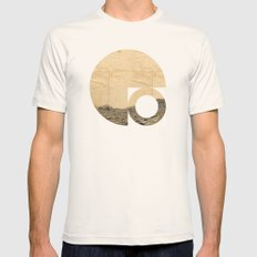 Symbol of Chaos Mens Fitted Tee Natural SMALL