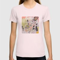 Judge² Womens Fitted Tee Light Pink SMALL