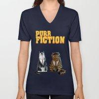 Purr Fiction Unisex V-Neck