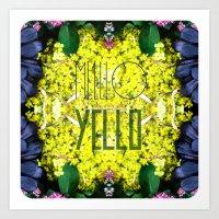 Mello Yello Art Print