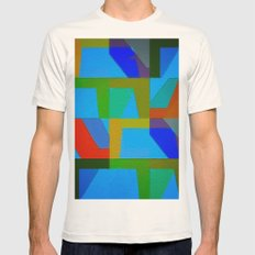 Colorful Truth. Sky Mens Fitted Tee Natural SMALL