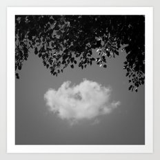 Little cloud Art Print
