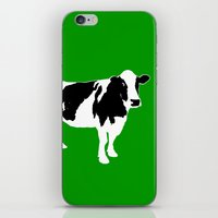 Farm Cow Art iPhone & iPod Skin