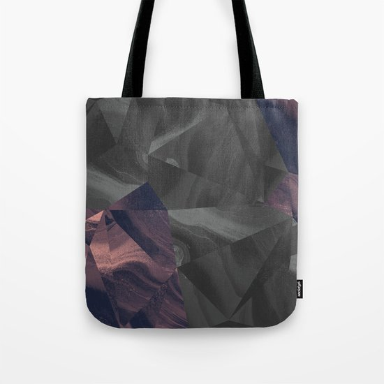 Irregular Marble Tote Bag