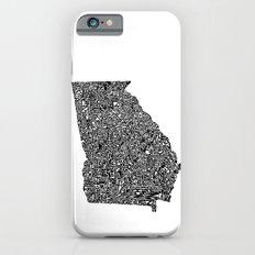 Typographic Georgia Slim Case iPhone 6s
