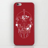shoes make a skull iPhone & iPod Skin