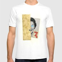 3 :) Mens Fitted Tee White SMALL