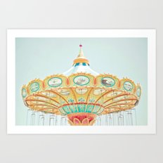 I See Happiness Art Print