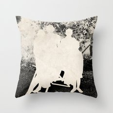 the secret family Throw Pillow