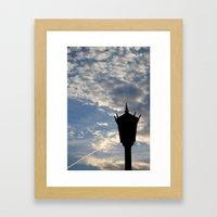 Charleston Lamp Framed Art Print