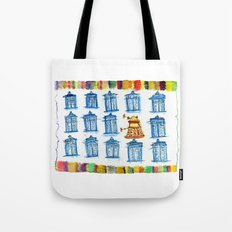 Doctor Whoodle Tote Bag