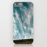 Doves And Wire#2 iPhone 6 Slim Case