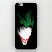 The Dark Joker iPhone & iPod Skin
