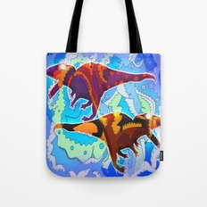 Dinosaur Collaboration Tote Bag