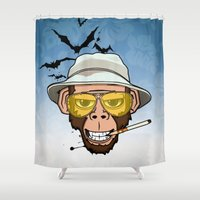 Monkey Business In Las V… Shower Curtain