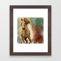 Loyal Steed Framed Art Print
