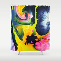 Chaser Shower Curtain